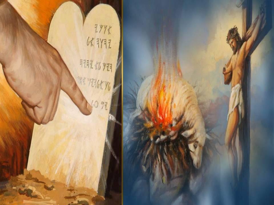 The Ten Commandments Versus the Ceremonial law