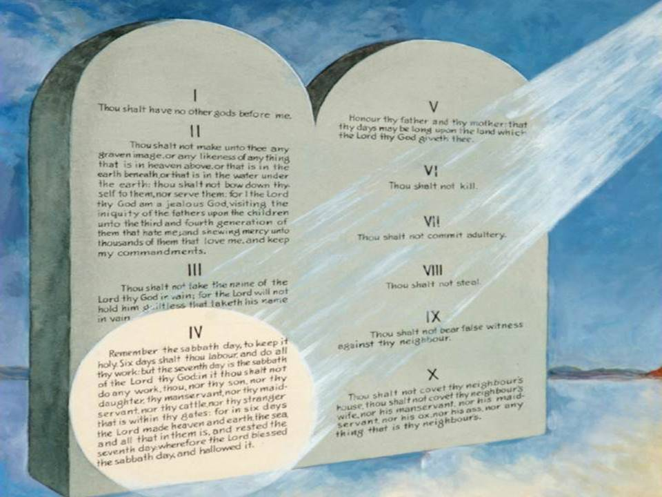 The Seventh-day Sabbath: the Seal of the Living God